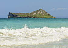 Kaninchen-Insel vom Waimanalo Strand Lizenzfreies Stockbild