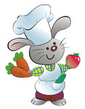 Kaninchen-kochen Sie Lizenzfreies Stockbild