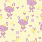 Kaninchen. Muster Vektor Abbildung