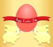 Kaninchen Ostern Lizenzfreie Stockfotos