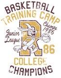 Kaninchenbasketball-Ausbildungslager stock abbildung