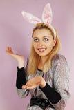 Kaninchenfrau Lizenzfreie Stockfotografie