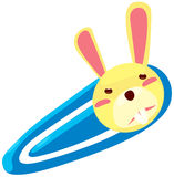 Kaninchenhaarclip lizenzfreie abbildung
