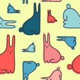 Kaninchenmuster Stockfotos