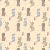 Kaninchenmuster Lizenzfreie Stockfotos