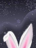 Kaninchenohren Stockbild