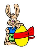 kanineaster illustration Arkivbilder