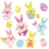 kanineaster kanin Royaltyfri Illustrationer