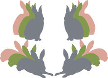 kanineaster silhouette Fotografering för Bildbyråer