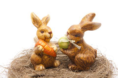 kaniner easter Arkivfoton