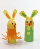 kaniner två Arkivfoto