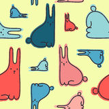 Kaninmodell Arkivfoton