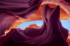 kanion kolorowe niższej antylopy Zdjęcia Stock