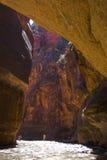 kanionu rzeki zatoczek Zdjęcia Royalty Free