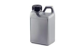 Kanister z olejem. auto części Zdjęcie Royalty Free