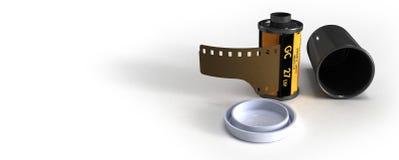 kanisterfilm Arkivfoto