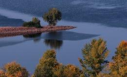 Kaniv, Ουκρανία και ο ποταμός Dnipro Στοκ Εικόνες