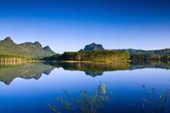 Kanjanaburi park in thailand. Royalty Free Stock Image
