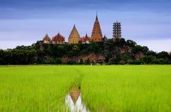 Kanjanaburi Wathumsua tample Στοκ Εικόνες