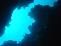 kanjon arkivbild
