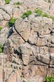 kanjon Aktovsky kanjon Naturlig nationalpark`-Bugsky Gard `, ukraine Arkivbilder