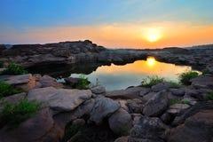Kanjon av Thailand Royaltyfria Foton