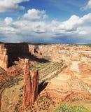 kanjon chelly Arkivbild