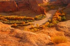 kanjon chelly de Arkivbild