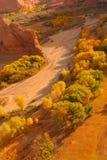 kanjon chelly de Royaltyfri Foto