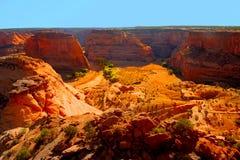 kanjon chelly de Arkivfoto