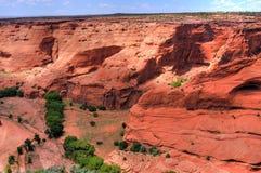 kanjon chelly de Arkivbilder