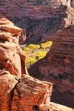 kanjon chelly de Royaltyfria Bilder