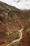 Kanjon Cotahuasi, Peru Arkivfoto