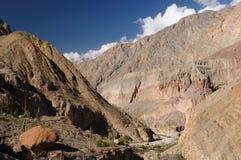 Kanjon Cotahuasi, Peru Royaltyfri Fotografi