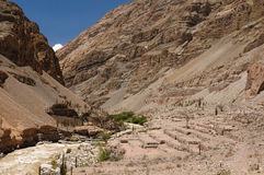 Kanjon Cotahuasi, Peru Arkivfoton