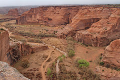 Kanjon de Chelly Royaltyfria Foton