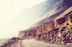 Kanjon i Peru Royaltyfria Bilder