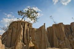 Kanjon i Thailand Arkivfoto