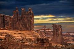 Kanjon i USA Royaltyfri Bild