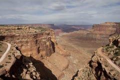 Kanjon i Utah Royaltyfria Bilder