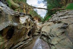 Kanjon Kenya Royaltyfria Bilder