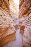 kanjon kulöra egypt Arkivfoto