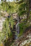 Kanjon nära Spahats nedgångar Arkivfoto
