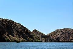 Kanjon sjö, Maricopa County, Arizona, Förenta staterna royaltyfri fotografi