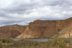 Kanjon sjö, tillstånd av Arizona, Förenta staterna Royaltyfria Foton