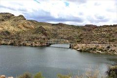 Kanjon sjö, tillstånd av Arizona, Förenta staterna Arkivbild