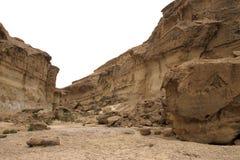 kanjon tunisia Arkivfoton