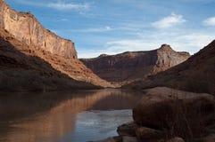 kanjoncoloradflod Arkivfoton