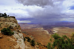 kanjonen landar nationalparken Royaltyfria Foton