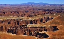 kanjonen landar nationalparken Royaltyfri Foto